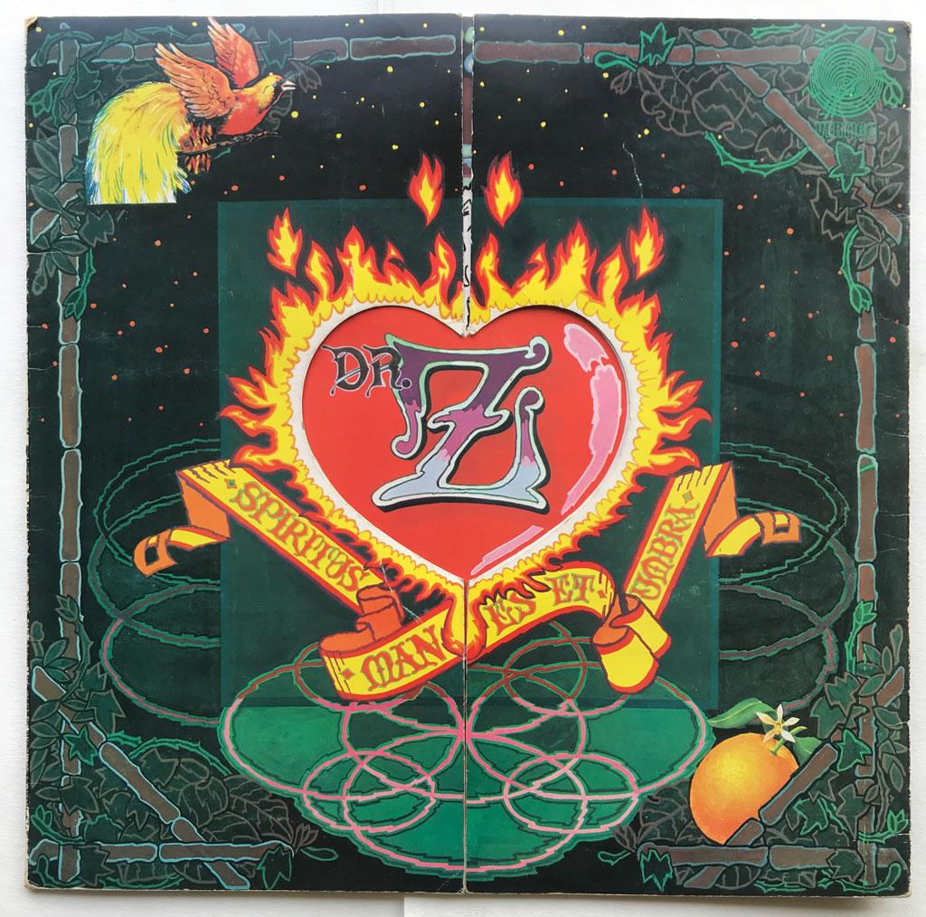 Dr.Z Three Parts To My Soul (Spiritus, Manes Et Umbra)