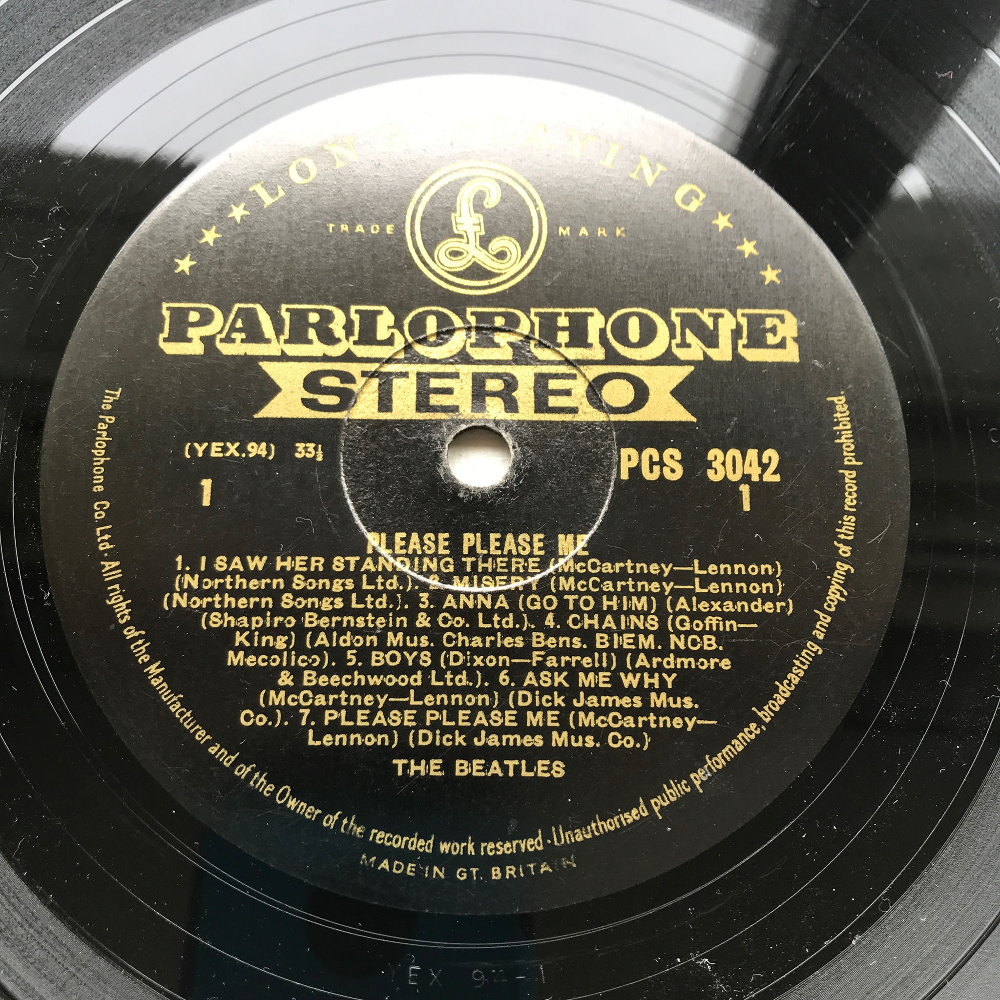 Please Please Me - Beatles Gold Stereo